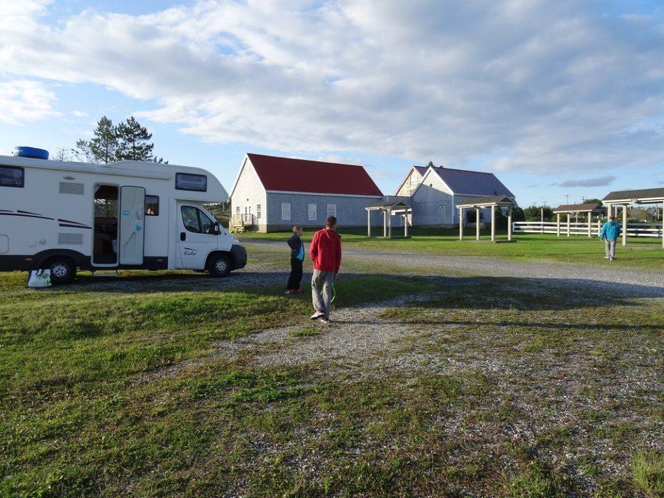 Camping gratuit à Louisbourg