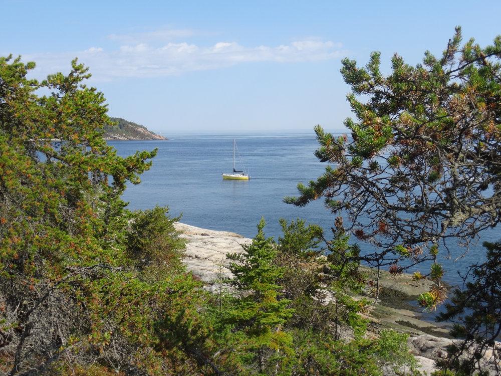 Pointe de l'Islet à Tadoussac