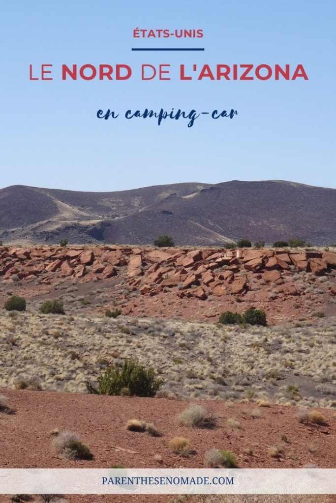 Le nord de l'Arizona en camping car