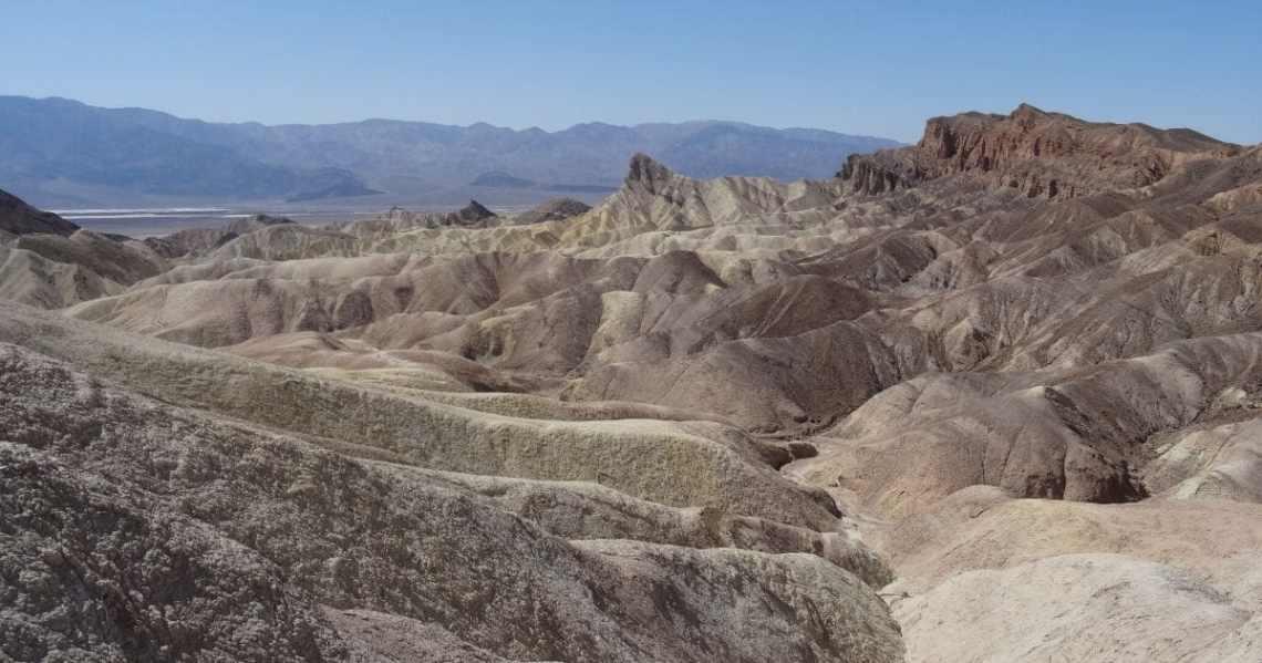 La vallée de la mort, parc national à proximité de Las Vegas