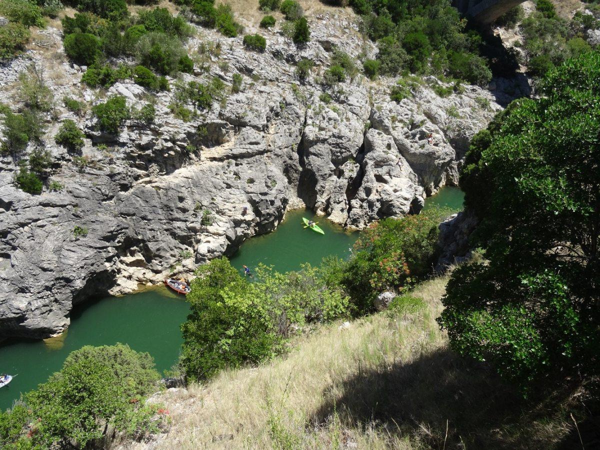 Les gorges de l'Hérault - Visite en camping-car