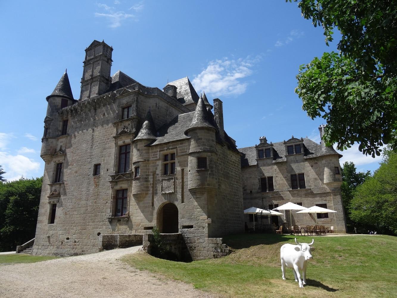 Chateau de Sédières en Corrèze