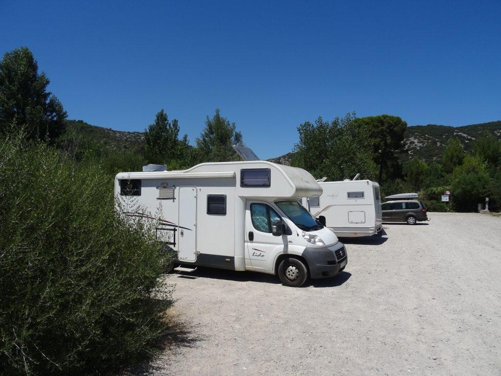 Maison du grand site des Gorges de l'Hérault - Parking et aire de camping-car