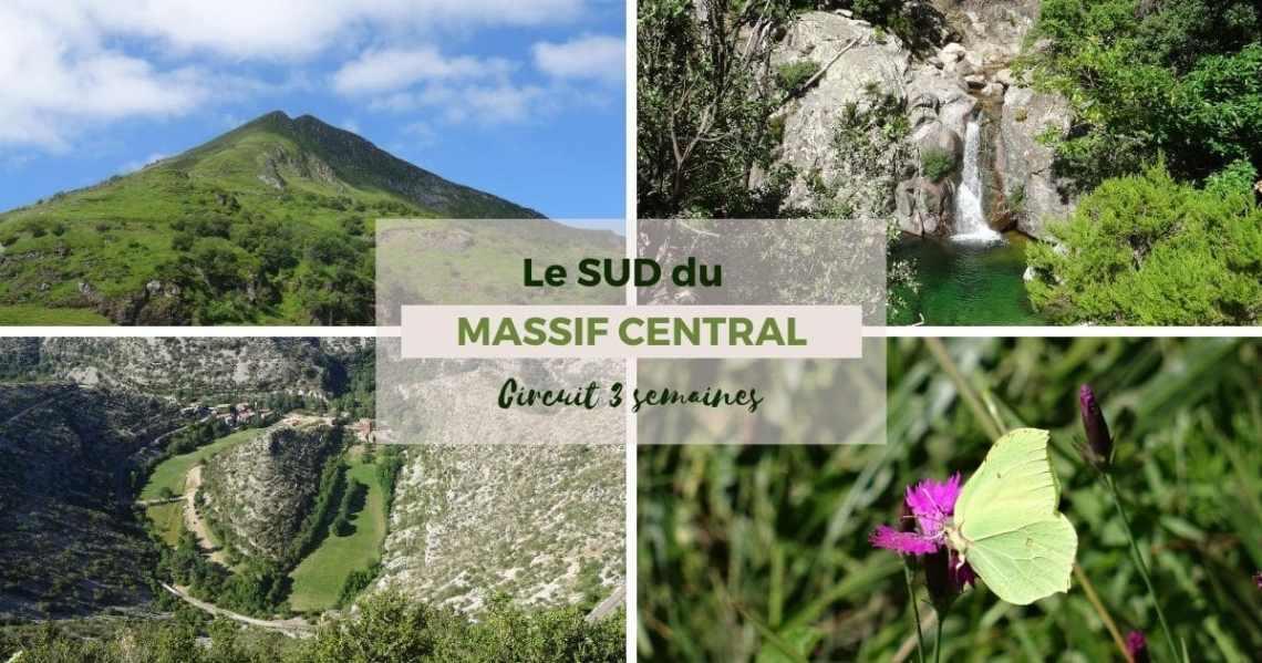Itinéraire de 3 semaines en camping-car dans le massif central