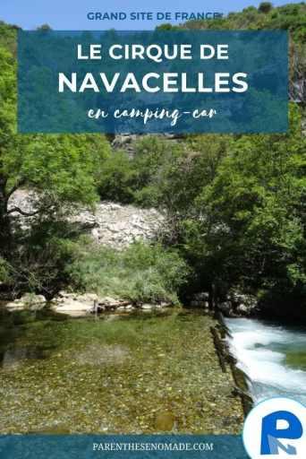 Le cirque de Navacelles et les gorges de la Vis en camping-car