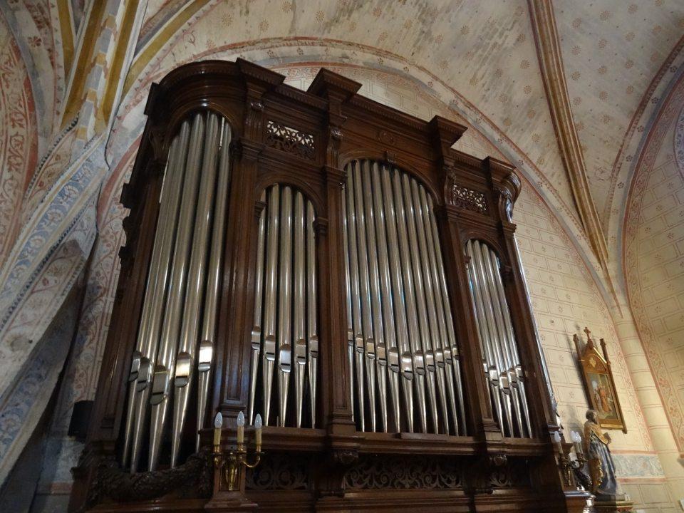 Orgue Gounod, église de La Sauve