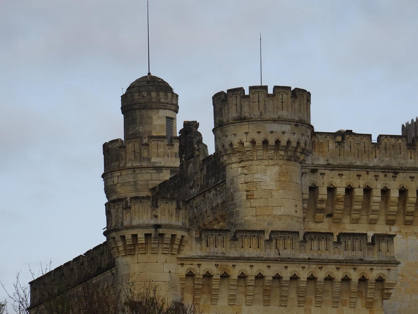 Le château de Camarsac