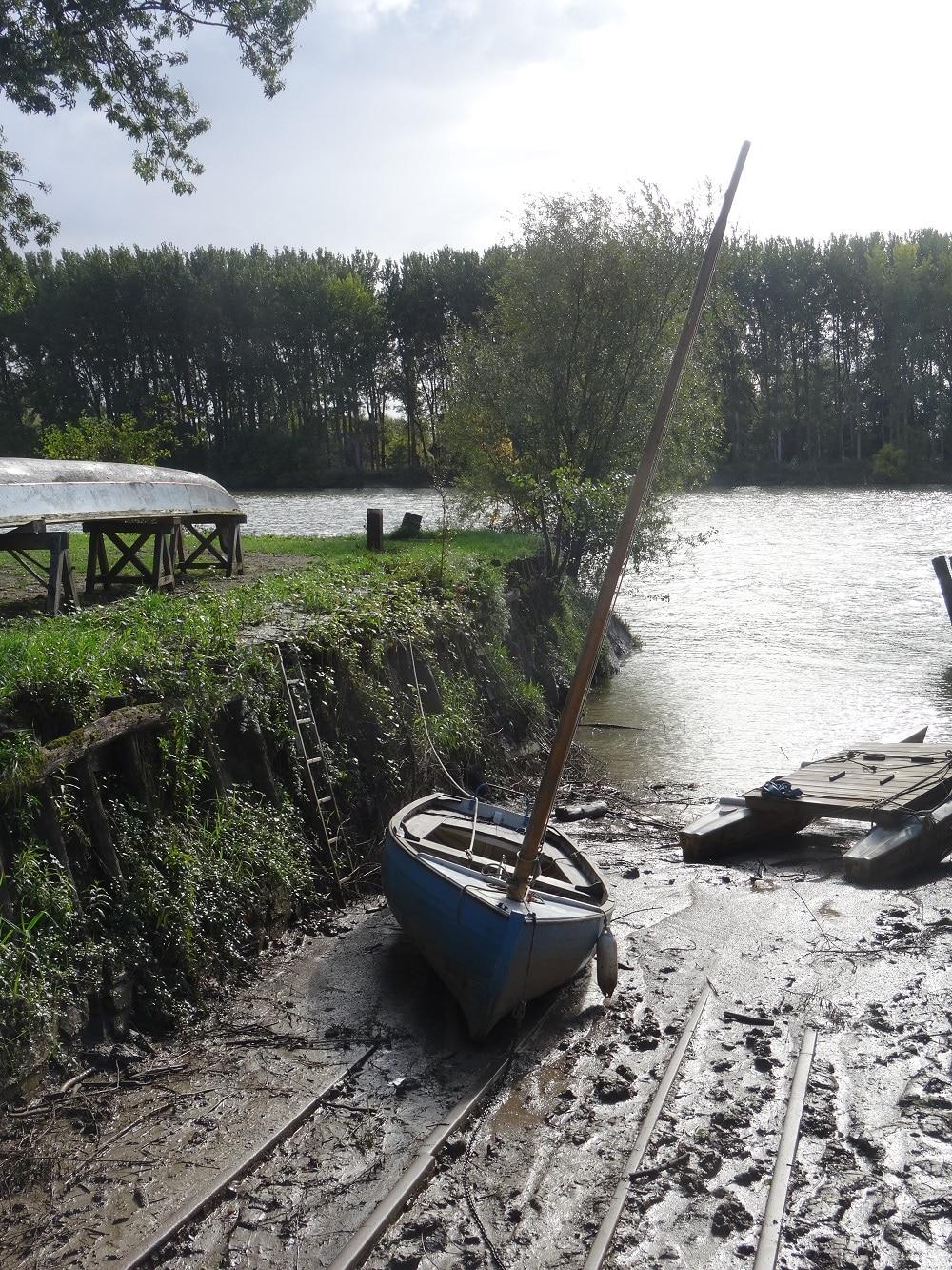L'Estay et la Garonne entre Le Tourne et Langoiran