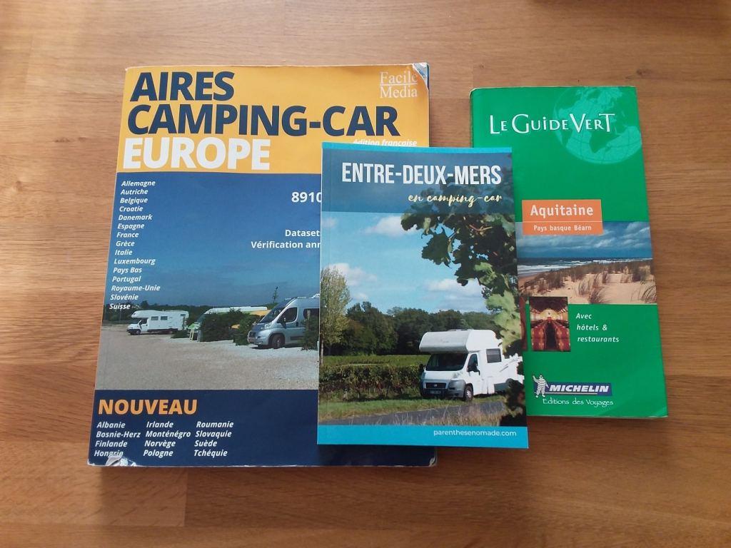Des guides pour voyager en camping-car