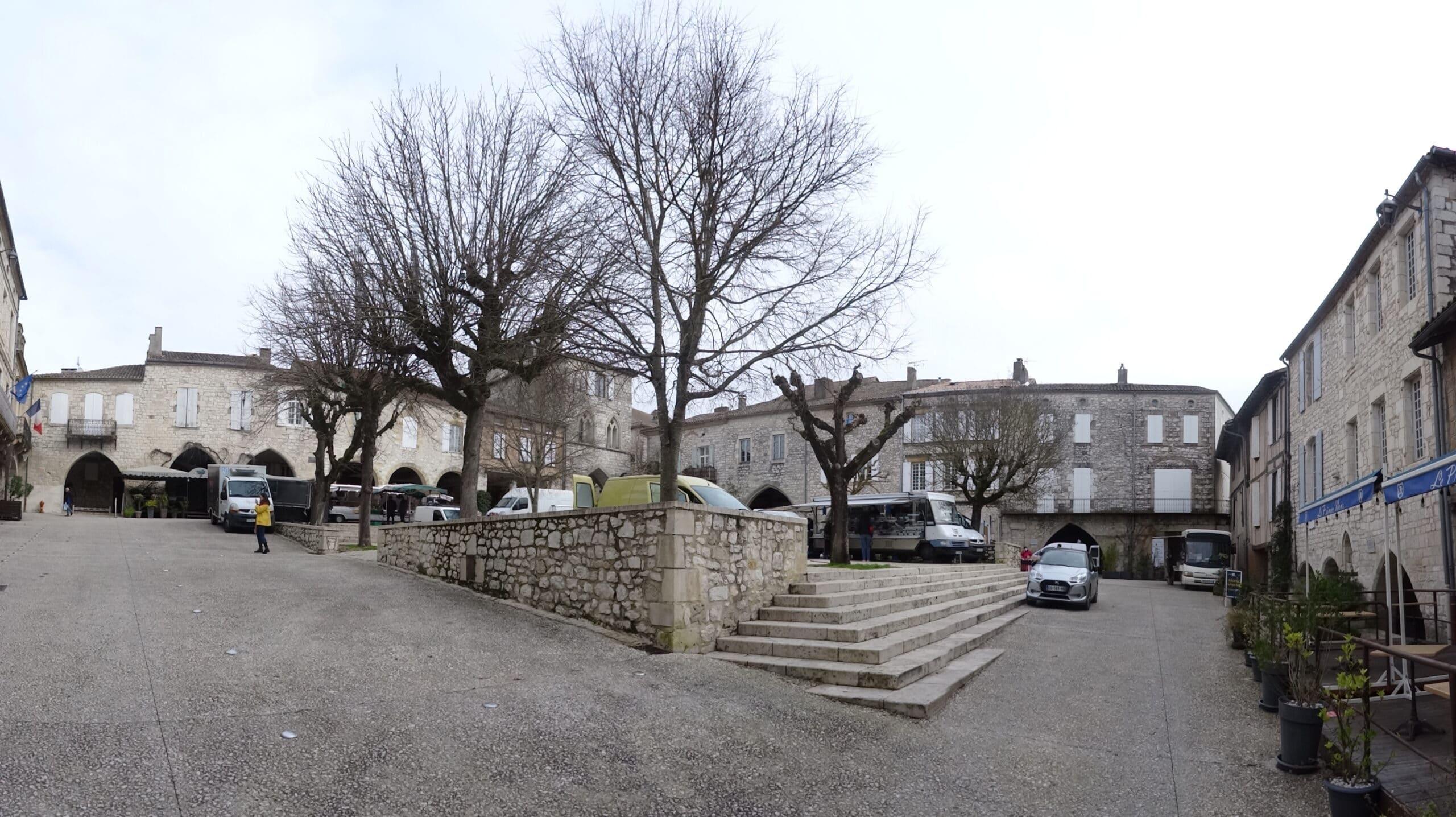 Monflanquin - Bastide et plus beau village de France en Lot-et-Garonne