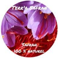 Logo de Terr'a Safran, safranière à Nérigean