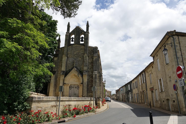 Blasimon, village de l'Entre-deux-Mers