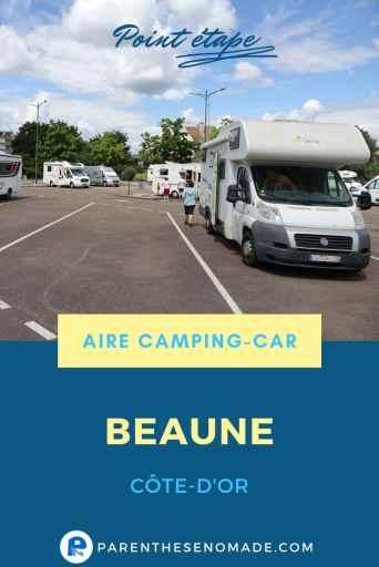 Aire camping-car de Beaune