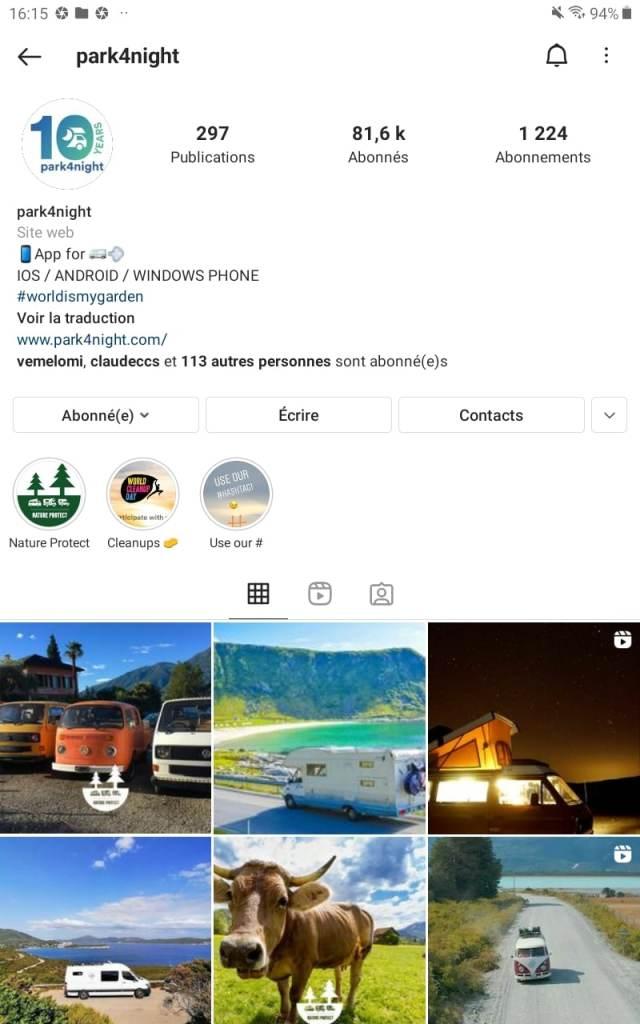 Park4Night : Camper Village VDL Le Bourget 2021