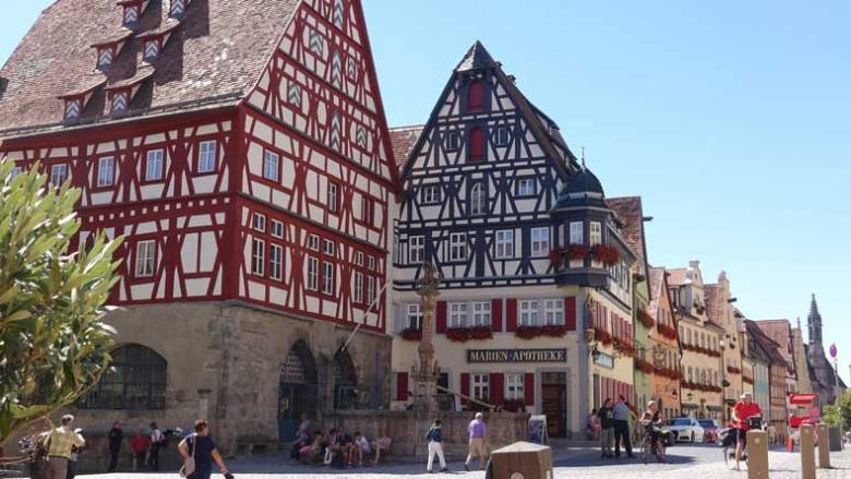 A picture of rothenburg, one of my harry potter locations.