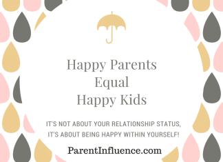 Parent Influence - Happy Parents Equal Happy Kids