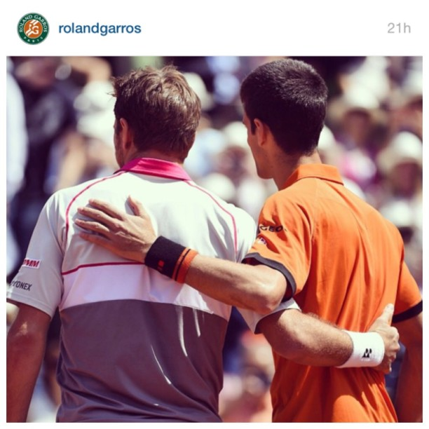 Photo courtesy of Roland Garros Twitter account