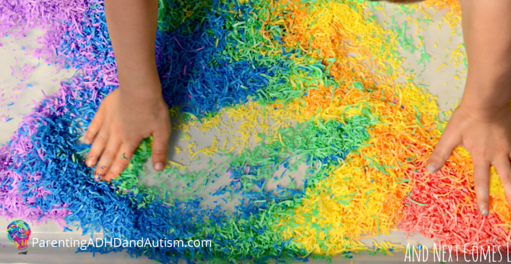 100+ Calming Sensory Activities You Can DIY at Home for Kids with ADHD, autism, SPD
