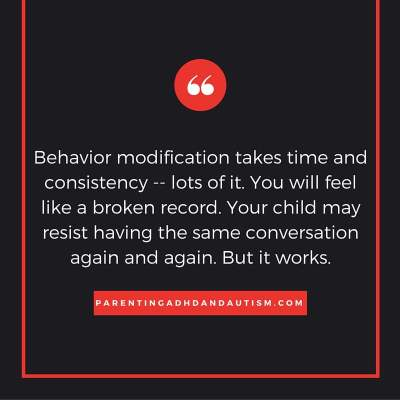 Behavior modification quote