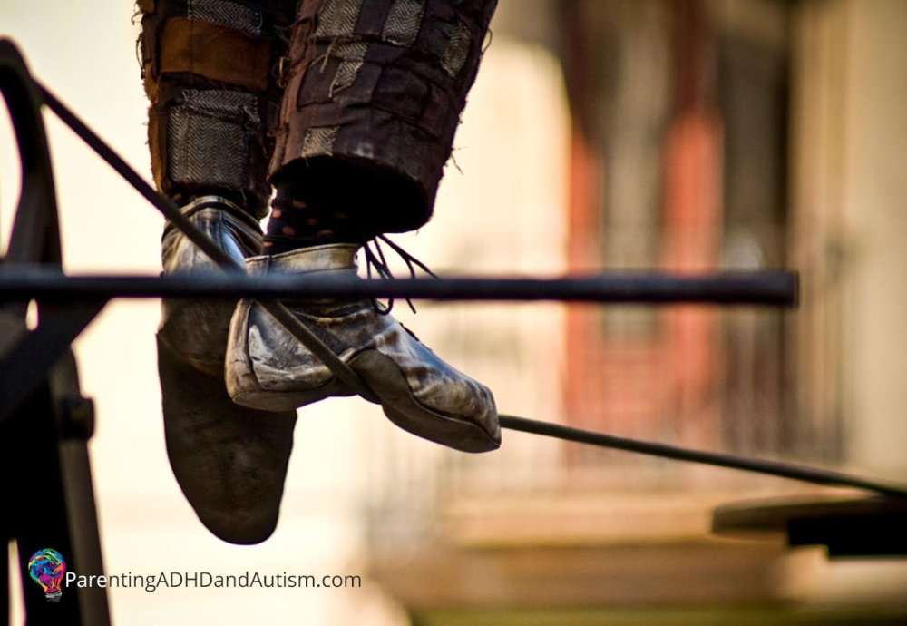 The Parenting Tightrope: Parenting ADHD & Autism