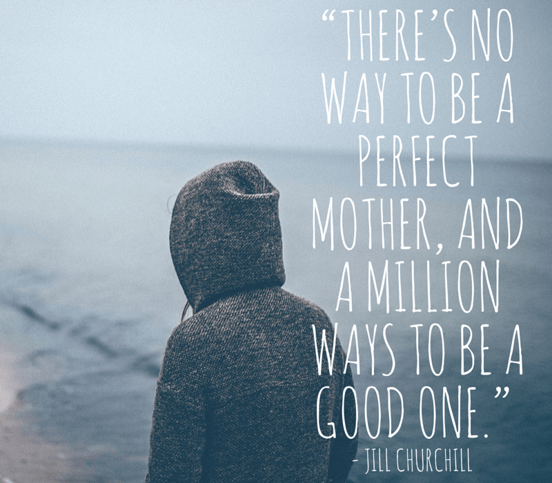 There's no way to be a perfect parent...