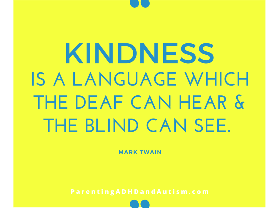 kindness is a language