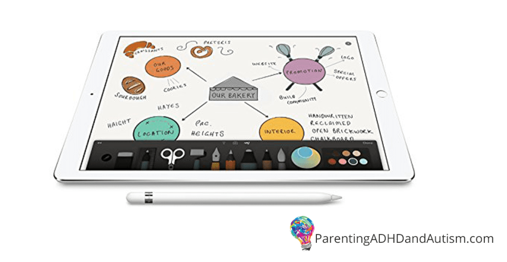 iPad Pro + Apple Pencil = Home Run for Students with Executive Functioning Deficits and Dysgraphia