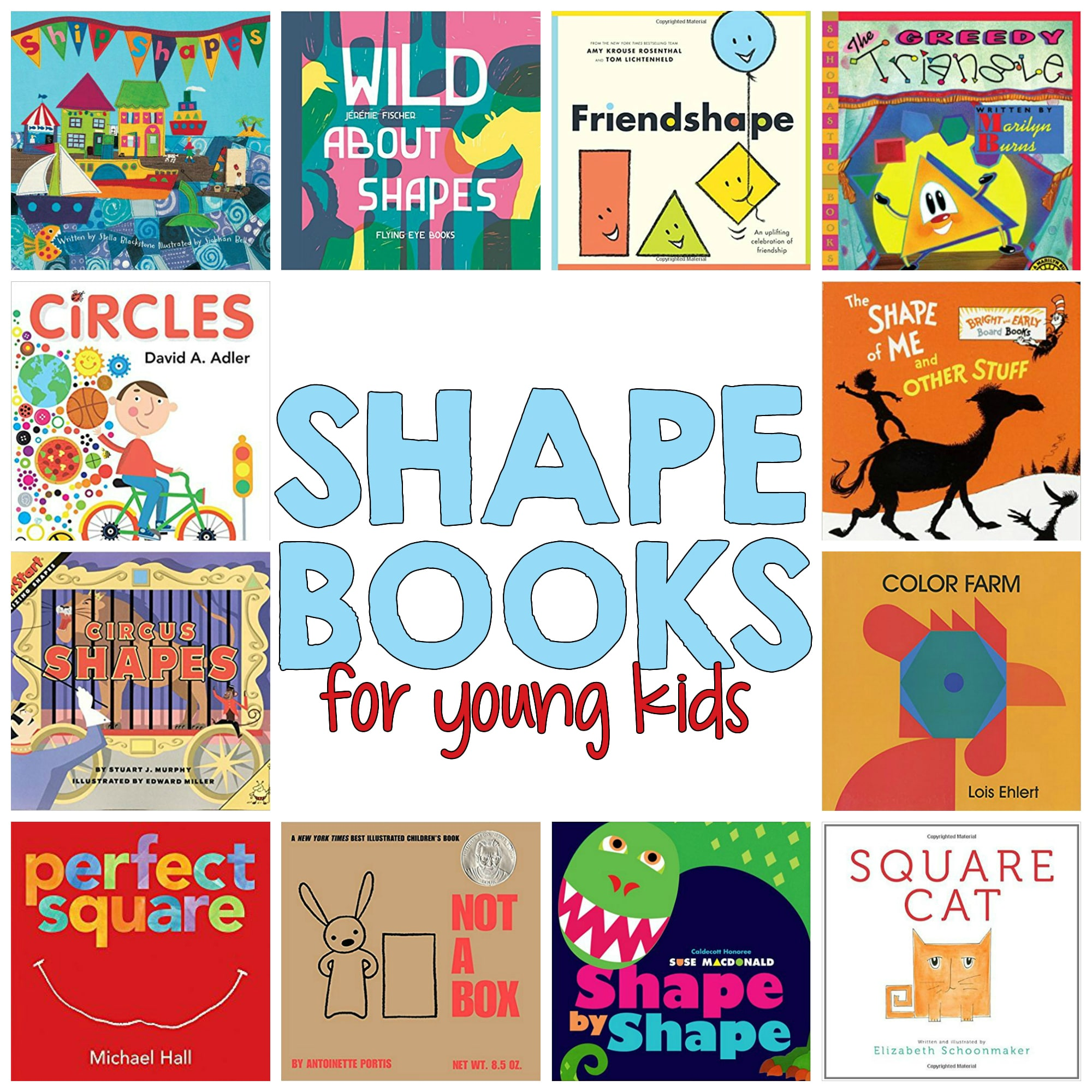 18 Super Shapes Books For Young Readers That Will Make