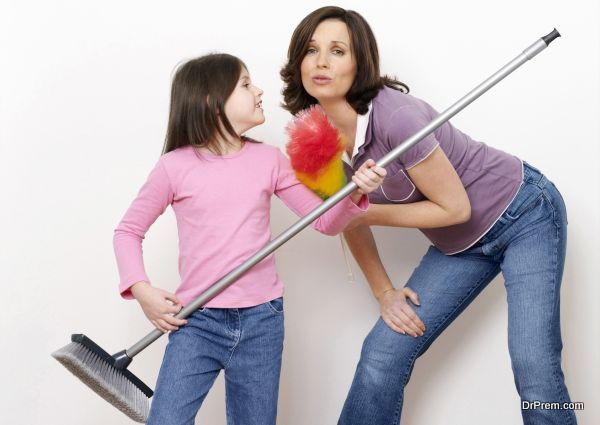 kids cleaning tips
