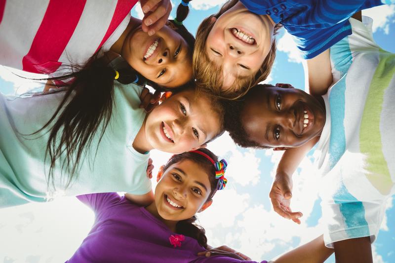Happiness, children, friendship, fun