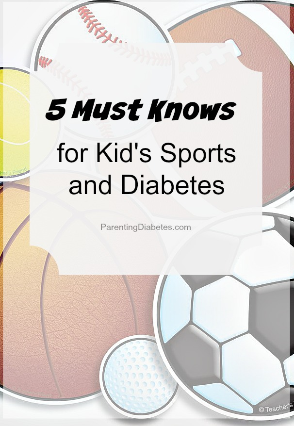 5 Must Knows for Sports and Diabetes