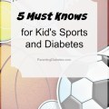 5 Must Knows for Kid's Sports and Diabetes