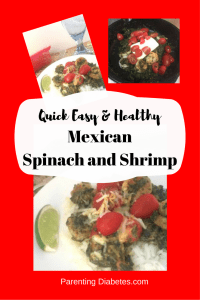 mexican shrimp and spinach canva 200x300 Quick, Easy, and Healthy Mexican Spinach and Shrimp