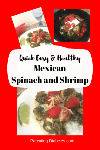 mexican shrimp and spinach canva Quick, Easy, and Healthy Mexican Spinach and Shrimp