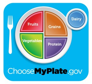 myplate blue 300x273 Healthier Holiday Eating