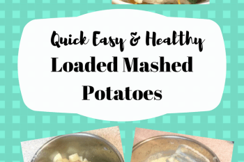 InstaPot Healthier Loaded Mashed Potatoes