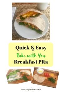 Quick EasyTake with YouBreakfast Pita 200x300 Easy Take with You Breakfast Pita Sandwiches