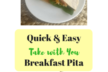 Easy Take with You Breakfast Pita Sandwiches
