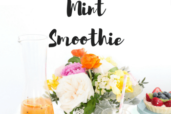 Pineapple Banana Mint Smoothie