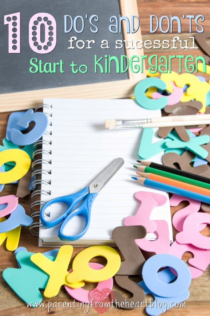 What should your child know for kindergarten? How should you prepare your child for the start of kindergarten? Here are 10 dos and don'ts from a former school teacher and principal.