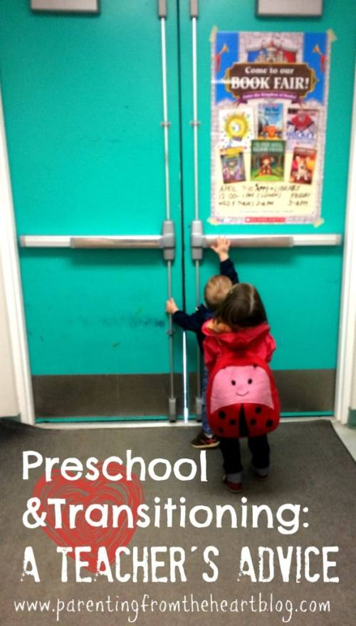 Transitioning & Preschool didn't come easily for my daughter, but when her preschool teacher suggested a couple of books and strategies, everything changed