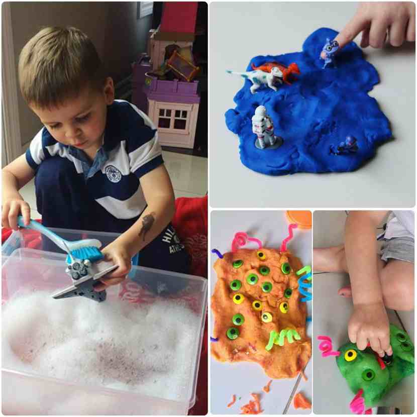 When the weather isn't great, it's so nice to have screen free boredom busters up your sleeve. These screen-free kids activities are perfect for preschoolers to keep busy, play-based learning. Rainy day activities, snow day indoor activities.