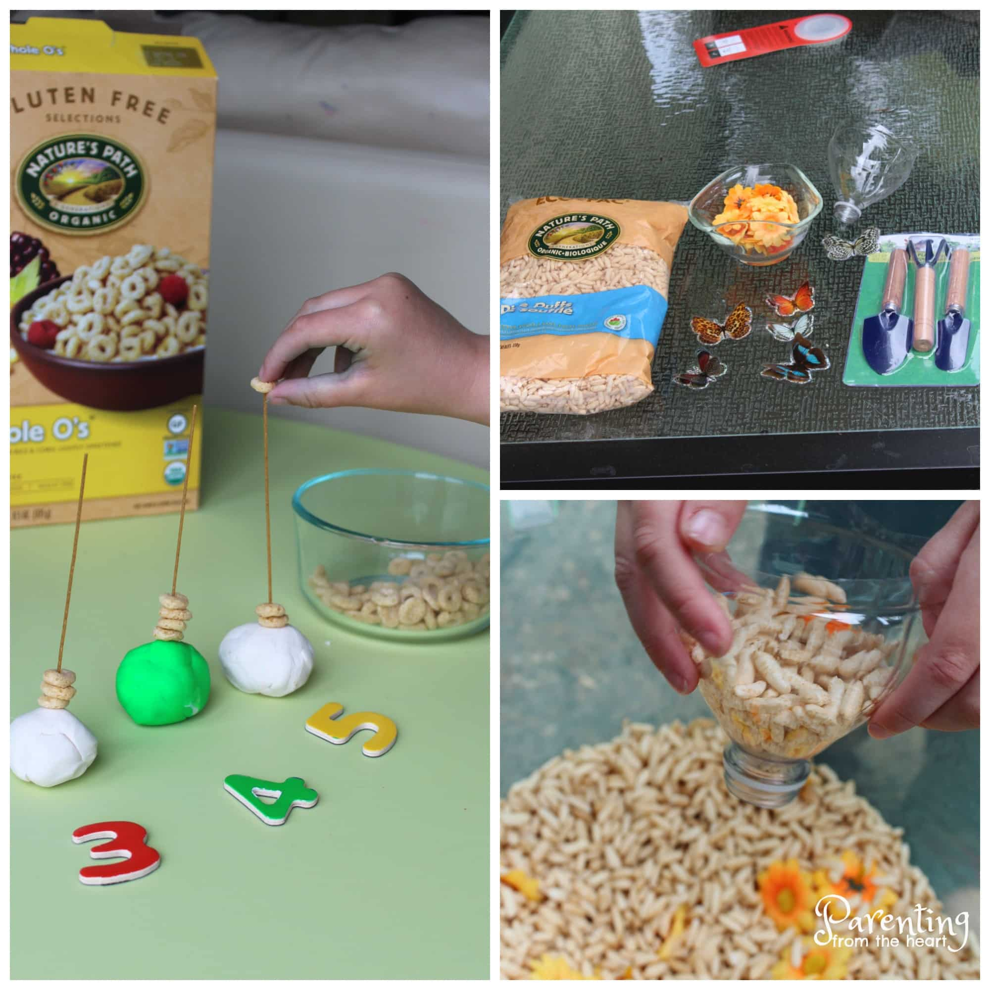 Find three taste-safe kids activities for preschoolers or toddlers. Great for play-based learning. Get a free printable too! These are easy and so much fun!