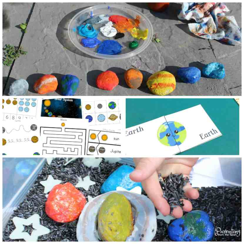 Solar System Worksheets: Free printables for preschoolers and ...