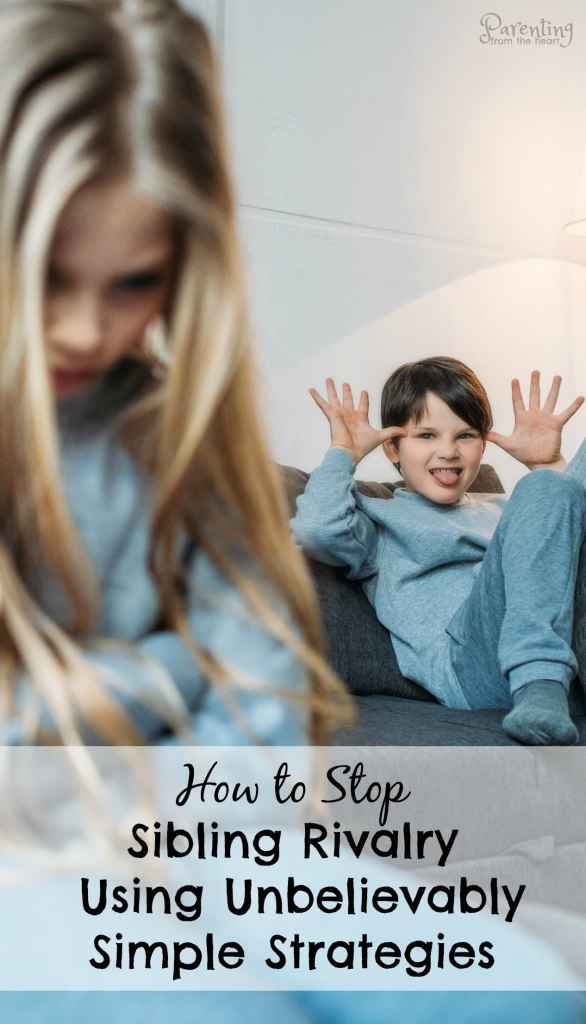 It felt like sibling rivalry had overtaken our household and my sanity. In enacting three very simple sibling rivalry solutions, peace has been restored. Parenting from the Heart positive parenting. #positiveparenting #parentingtips #siblingrivalry #parentingfromtheheart #kidsfighting #parenting