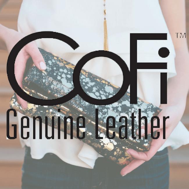 CoFi Genuine Leather Penny Phone Bag