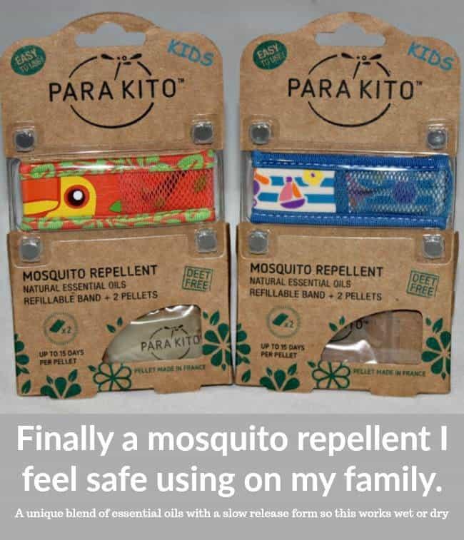 PARA'KITO Natural Essential Oil Mosquito Repellent