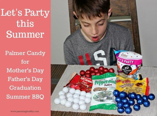 Let's Party this Summer with Palmer Candy