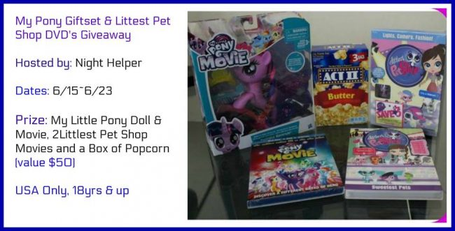 My Little Pony & My Littlest Pet Shop Gift Set Giveaway