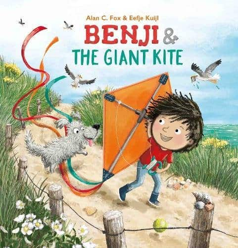 Benji and the Giant Kite Children's Book about Ambition - Giveaway